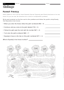 Forest Frenzy - Multiplication Worksheet With Answers