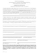 Form St391 - Exemption Certificate