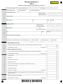 Montana Schedule K-1 (form Fid-3) - Beneficiary's Share Of Income (loss), Deductions, Credits, Etc.