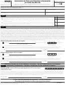 Form 8879(sp) - Autorizacion De Firma Para Presentar La Declaracion Por Medio Del Irs E-file - 2012