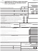 Form Tp-164.14 - Application For Refund Of New York State Motor Fuel Tax By An Omnibus Carrier