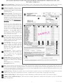 Form 53-v - Detailed Instructions For Department Preprinted Vendor's Use Tax Return