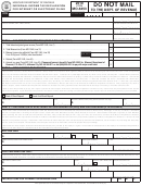 Form Mo-8453 - Individual Income Tax Declaration For Internet Or Electronic Filing - 2010