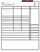 Form 4347 - Apportionment Schedule-bank Franchise Tax