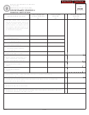 Form 2330 - Apportionment Schedule C Financial Institutions