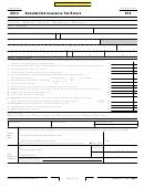 California Form 570 - Nonadmitted Insurance Tax Return - 2012