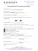 Form Tr-84a - Repossession Information Sheet