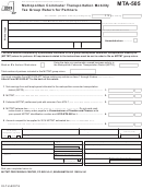 Form Mta-505 - Metropolitan Commuter Transportation Mobility Tax Group Return For Partners - 2013