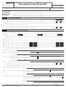 Formulario 8862(sp) - Informacion Para Reclamar El Credito Por Ingreso Del Trabajo Despues De Haber Sido Denegado