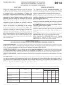 Form 800es - Virginia Insurance Premiums License Tax Estimated Payment Voucher - 2014