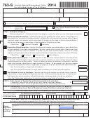 Form 763-s - Virginia Special Nonresident Claim For Individual Income Tax Withheld - 2014