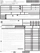 Form 760py - Virginia Part-year Resident Income Tax Return - 2014