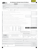 Form 2ez - Montana Individual Income Tax Return - 2014