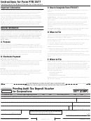 California Form Ftb 3577 - Pending Audit Tax Deposit Voucher For Corporations