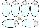 Analog Half Past Clock Templates