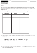 Fore! - Math Worksheet