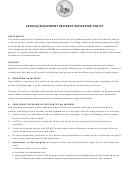 Internal Vehicle/equipment Incident Report