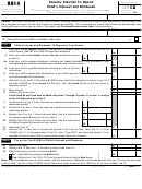 Form 8814 - Parents' Election To Report Child's Interest And Dividends - 2012