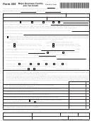 Form 304 - Major Business Facility Job Tax Credit
