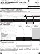 Form 3805d - Net Operating Loss (nol) Carryover Computation And Limitation - Pierce's Disease - 2013