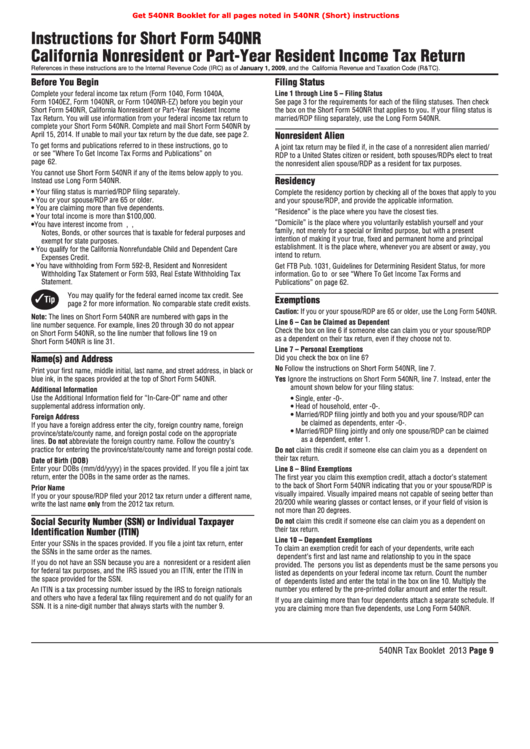 Top 22 California Ftb Form 540 Templates free to download in PDF format