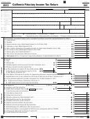 Form 541 - California Fiduciary Income Tax Return - 2013