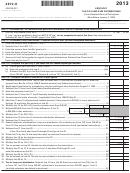 Form 4972-k - Kentucky Tax On Lump-sum Distributions - 2013