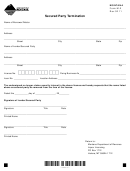 Montana Form M-2 - Secured Party Termination