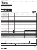 Form R-5385 - Terminal Operator Annual Report