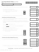 Virginia Schedule 763 Adj (form 763 Adj) - 2012