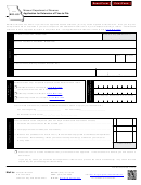 Form Mo-60 - Application For Extension Of Time To File