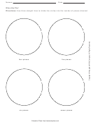 Slice The Pie Activity Sheet