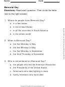 Memorial Day Quiz Template