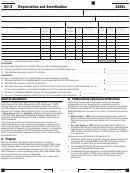 California Form 3885l - Depreciation And Amortization - 2013