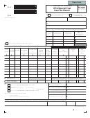 Form Tc-922 - Ifta/special Fuel User Tax Return