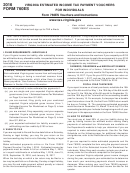 Form 760es - Virginia Estimated Income Tax Payment Vouchers For Individuals - 2016