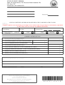 Form Wv/hcp-3a - Annual Return Of Broad Based Health Care Related Taxes