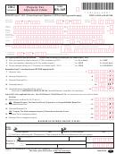 Form Hs-145 - Vermont Property Tax Adjustment Claim - 2012