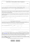 Form T-8 - Limited Power Of Attorney/motor Vehicle Transactions
