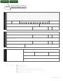 Form 1062 - Affidavit For Mechanic Lien Title