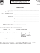 Form Dr-600013 - Request For Verification That Customers Are Authorized To Purchase For Resale - 2008
