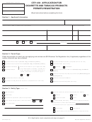 Form Ctp-129 - Application For Cigarette And Tobacco Products Permits/registration