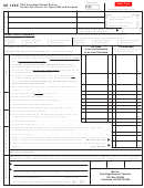 Form Sd 100x - Ohio Amended School District Income Tax Return For Years 2008 And Forward - 2018