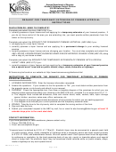 Form Abc-816 (10.5.12) - Request For Temporary Extension Of Premise Approval Instructions - 2012