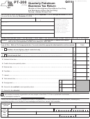 Form Pt-200 - Quarterly Petroleum Business Tax Return