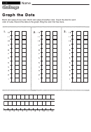 Graph The Dots - Math Worksheet With Answers
