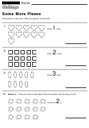 Some More Please - Math Worksheet With Answers