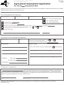 Form Rp-305 - Agricultural Assessment Application