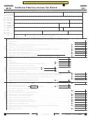 Form 541 - California Fiduciary Income Tax Return - 2015