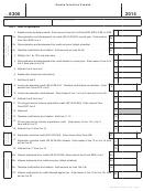 Form 6300 - Alaska Incentive Credits - 2014